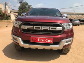 Used Ford Endeavour 3.2 Trend AT 4X4 2016 in Bangalore