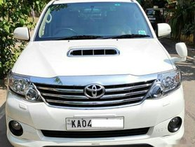 Used Toyota Fortuner 4x2 AT car at low price in Bangalore