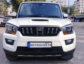 Mahindra Scorpio S10, 2017, Diesel MT for sale in Pune