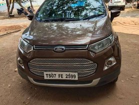 Used Ford EcoSport 1.5 Diesel Titanium MT for sale in Hyderabad