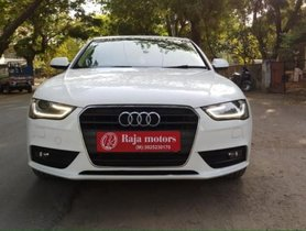 Audi A4 2014-2016 2.0 TDI 177 Bhp Premium Plus AT for sale in Ahmedabad