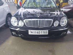 Used Mercedes Benz E Class 2003 AT for sale in Chennai