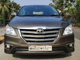 Used 2015 Toyota Innova 2.5 VX 8 STR MT for sale in Mumbai