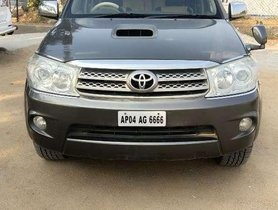 Used Toyota Fortuner MT for sale in Hyderabad at low price