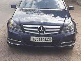 Used Mercedes Benz C-Class 2013 220 AT for sale in Ahmedabad
