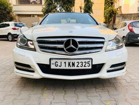 Used Mercedes-Benz C-Class 250 Avantgarde, 2011, Diesel AT for sale in Ahmedabad