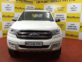Used 2016 Ford Endeavour AT for sale in Thane