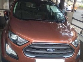 Used Ford EcoSport 2018 MT for sale in Hyderabad at low price