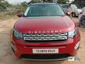 Used Land Rover Discovery 2016 AT for sale in Hyderabad at low price