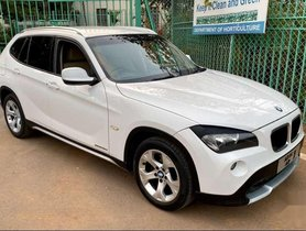 Used BMW X1 2011 sDrive20d AT for sale in Hyderabad