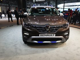 Renault Triber AMT Unveiled at Auto Expo 2020 - To Launched in Q2 2020