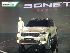 Kia Sonet Debuts At Auto Expo 2020, Launch In H2 Of 2020