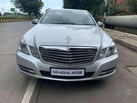 Used Mercedes-Benz E-Class E220 CDI Blue Efficiency, 2012, Diesel AT for sale in Mumbai