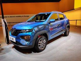 Renault Kwid EV (K-ZE) Unveiled At Auto Expo 2020