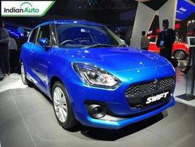 Maruti Suzuki Swift Hybrid Showcased At Auto Expo 2020