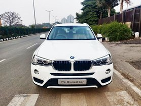 BMW X3 xDrive20d Expedition AT 2017 in Gurgaon