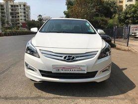 2017 Hyundai Verna 1.6 VTVT SX Option MT for sale at low price in Mumbai