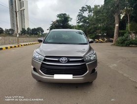 Used 2017 Toyota Innova Crysta 2.4 GX MT MT for sale in Bangalore
