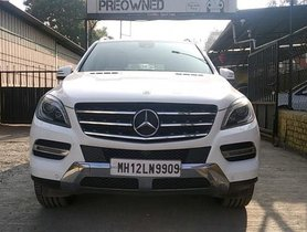 Mercedes Benz M Class ML 350 4Matic 2014 AT for sale in Pune