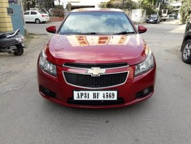 2009 Chevrolet Cruze LTZ MT for sale at low price in Hyderabad