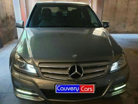 Used Mercedes Benz C-Class C 200 CGI AT 2012 in Bangalore