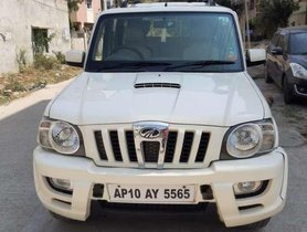 Used 2011 Mahindra Scorpio MT car at low price in Hyderabad