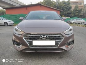 Used 2017 Hyundai Verna VTVT 1.6 AT SX Option car at low price in New Delhi
