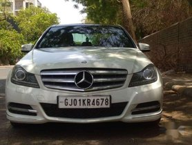 Mercedes Benz C-Class 2012 AT for sale in Ahmedabad