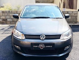 Volkswagen Polo Petrol Highline 1.6L 2010 MT for sale in Bangalore