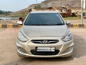 Hyundai Verna Fluidic 1.6 CRDi SX Automatic, 2011, Diesel AT in Mumbai