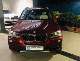 Used BMW X3 xDrive20d xLine AT 2014 in Pune