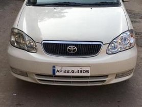 2004 Toyota Corolla H5 MT for sale at low price in Hyderabad