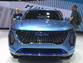 Haval Concept H SUV Makes Global Debut At Auto Expo 2020