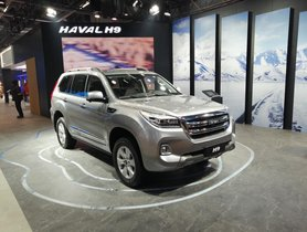 GWM Showcases Haval H9 (Fortuner Rival) at Auto Expo 2020