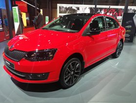 Skoda Showcases BS6 Rapid at Auto Expo 2020