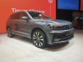 Volkswagen Debuts Tiguan AllSpace At Auto Expo 2020