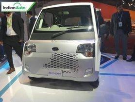 Mahindra Showcases Super-Compact EV for India at Auto Expo 2020