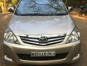 2010 Toyota Innova AT for sale at low price in Mumbai