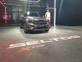 Kia Seltos X-Line Showcased At Auto Expo 2020