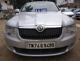 Used 2010 Skoda Superb Style 1.8 TSI AT car at low price in Coimbatore