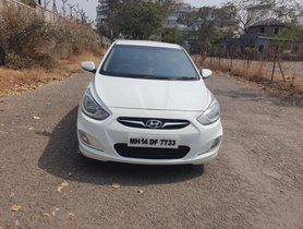 Used 2012 Hyundai Verna 1.6 CRDi EX MT car at low price in Pune