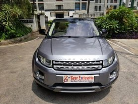 Land Rover Range Rover Evoque 2.2L Dynamic AT 2012 in Bangalore