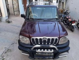 Used 2005 Mahindra Scorpio SLX MT car at low price in Hyderabad