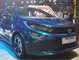 Tata Altroz EV Showcased in Near-Production Form at Auto Expo 2020