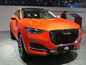 Haval F5 Showcased At Auto Expo 2020 - Might Rival Jeep Compass