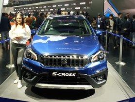 Maruti S-Cross Petrol unveiled at Auto Expo 2020