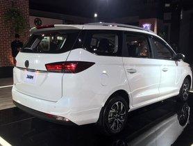 MG 360M MPV Unveiled At Auto Expo 2020, Potential Ertiga Rival