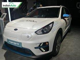Kia e-Niro SUV On Display at Auto Expo 2020