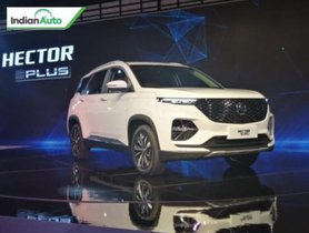 MG Hector Plus unveiled at Auto Expo 2020