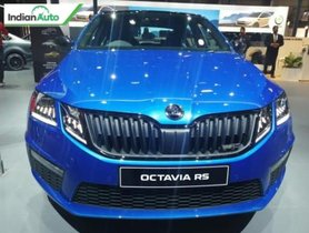 Skoda Octavia vRS Makes A Return To Indian Market at Auto Expo 2020